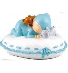 Figura pastel + hucha Bebé almohada