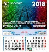 Calendario de pared 23,5 cm. (1,35 €+)