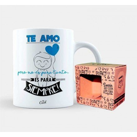 "Mug ""I love you but it's not for that long it's forever - Blue"""