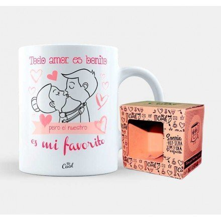 "Mug ""All love is nice but ours is my favorite"""