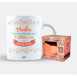 "Mug ""Mother there is but one and like mine none"""