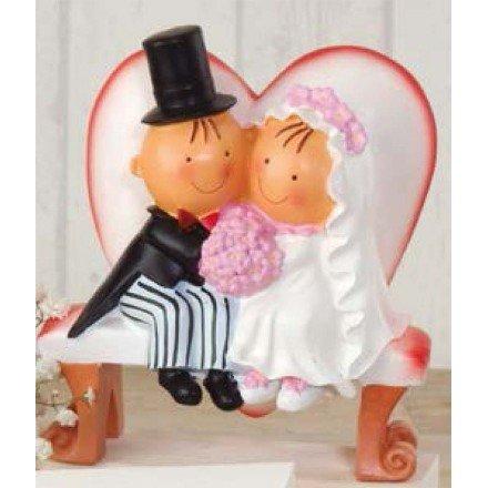 Figure cake bank boyfriends heart