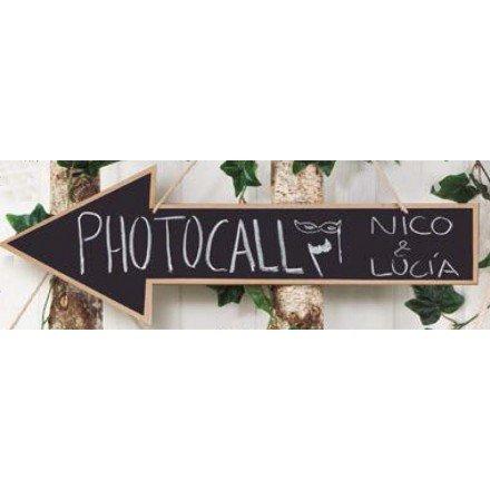 Pissarra fletxa Photocall