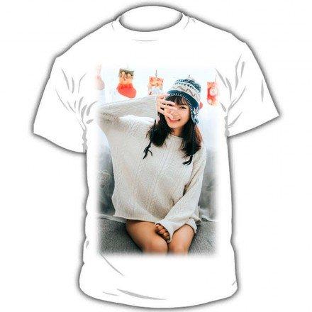 Camiseta personalizada color blanco