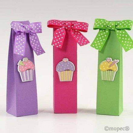Caja 2 bombones cupcake