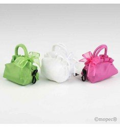 2 folding bag purse chocolates