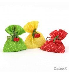 Bag 5 candy magnet cherries