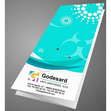 Brochures 1000 DIN A5 2-sided color 24 h.