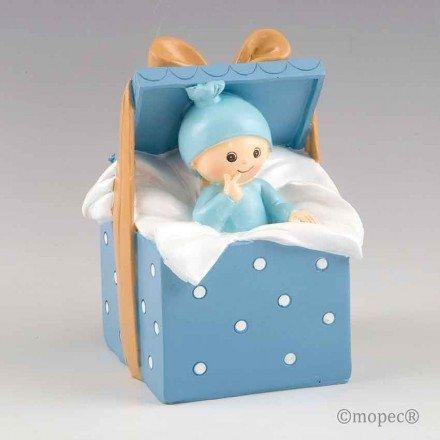 Hucha bebé caja regalo niño o niña