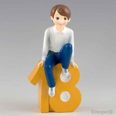 Now I have 18! sitting boy