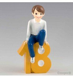 Now I have 18! sitting boy