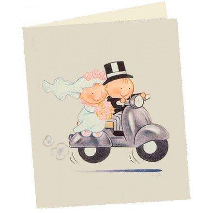 Targeta llibret pit-pita moto
