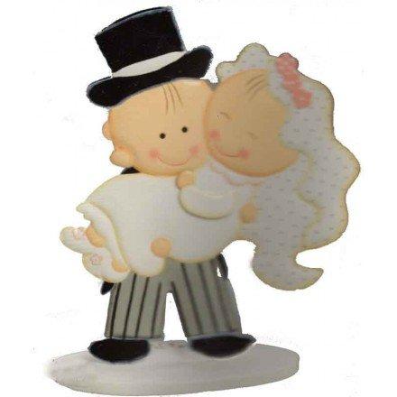 Núvia en braços