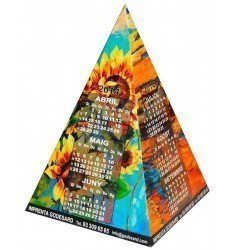 Calendari en forma piramidal 2019