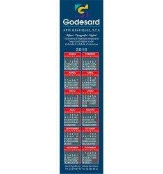 Calendari imant punt de llibre