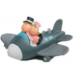 Pit&Pita avión imán+anilla caja blanca