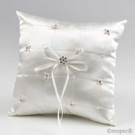 Cushion alliance ivory pearl diamond pictures