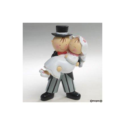 Figura pastís Núvia en braços