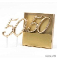 Decoració pastís 50 aniversari