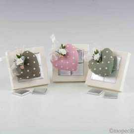 Moles heart cushion and clamp box