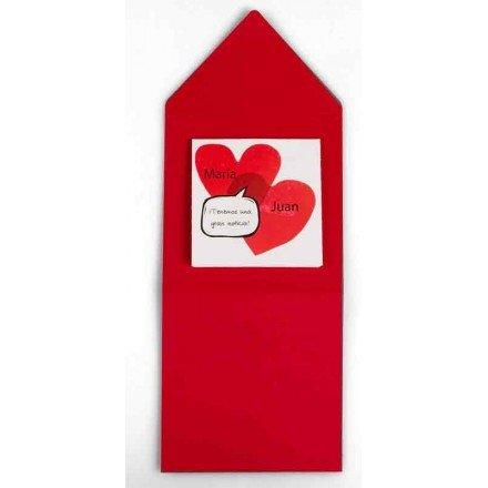 Invitació casament cors
