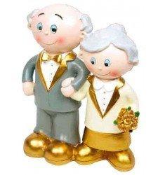 Figura pastel Bodas de Oro modelo 3