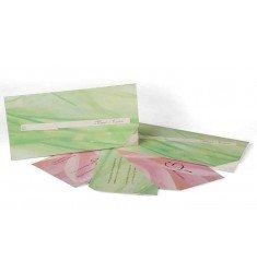 Invitació verd i rosa