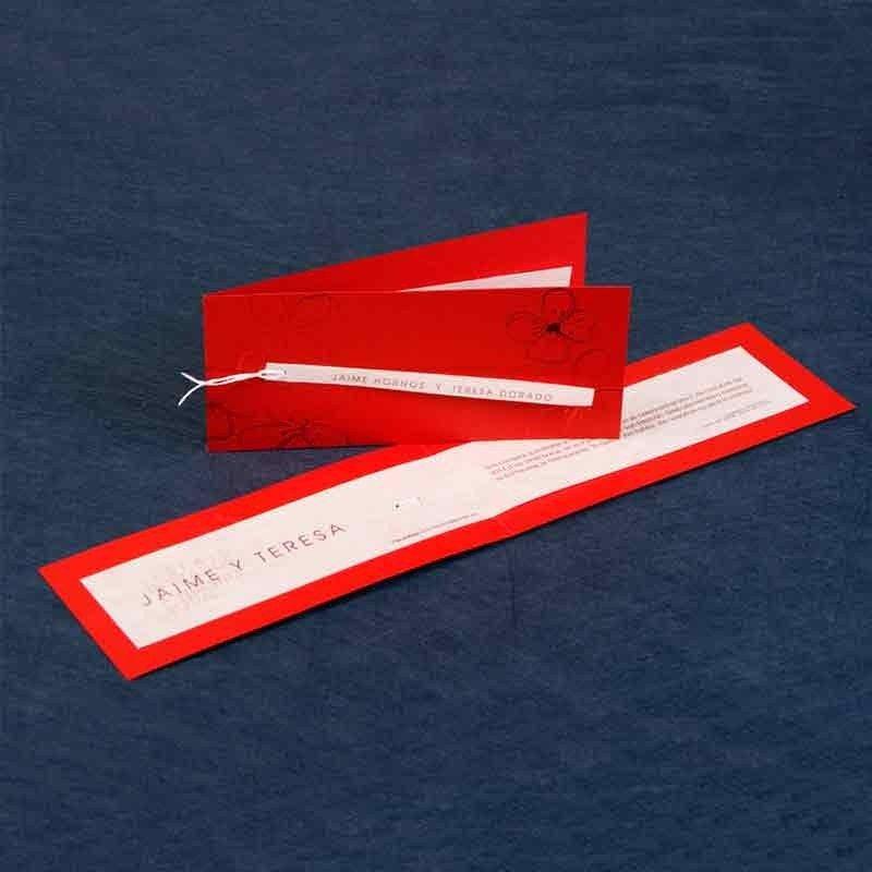 Wedding Invitation red model - 348 - red model invitation...