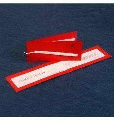 Invitació model vermell