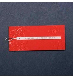 Wedding Invitation red model