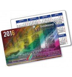 Calendarios de bolsillo PVC