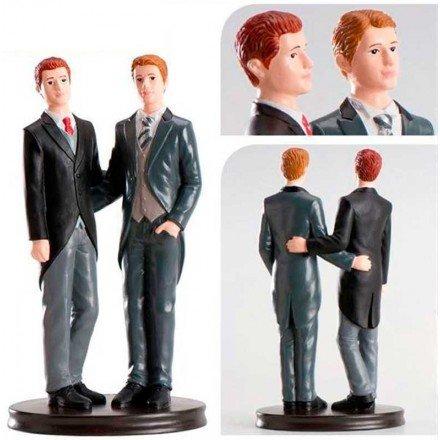 Parella de casament Gay Abraçats