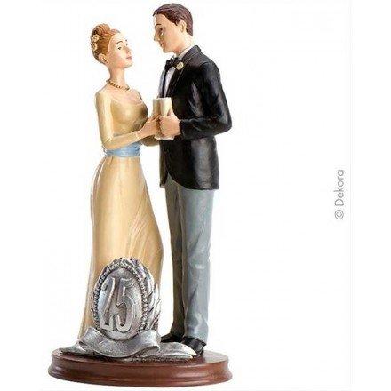 Parella de casament 25 Aniversari brindis