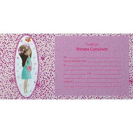 Invitation communion model 6