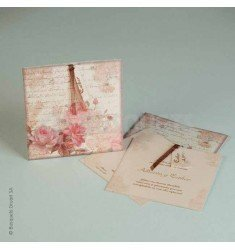 Wedding Invitation Antique Olive