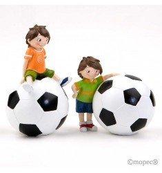 2 Huchas futbolista