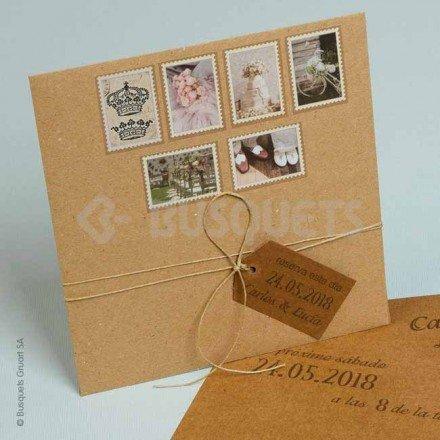 Invitació de casament Sigeloj