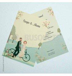 Invitación boda campestre