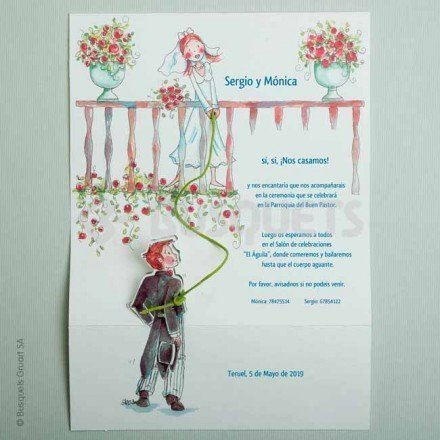 Wedding Invitation Romeo