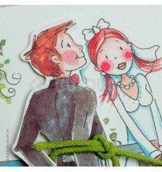 Invitació de casament Romeu