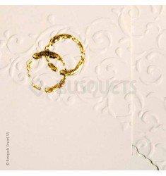 Invitació de casament Anells