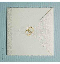 Invitación boda Anillos
