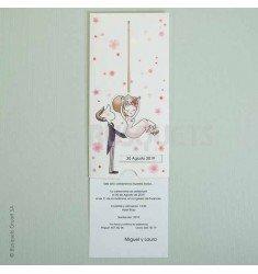 Invitació casament KraftLove