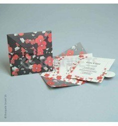 Wedding Invitation Floral Surprise