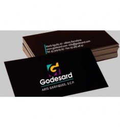 Colored laminated cards 2 side