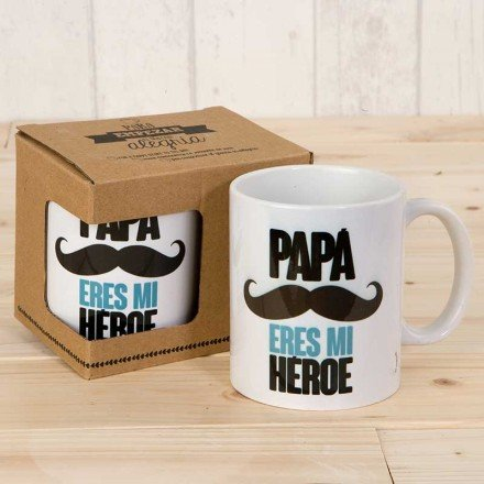 "Mug ""Daddy You're My Hero"""