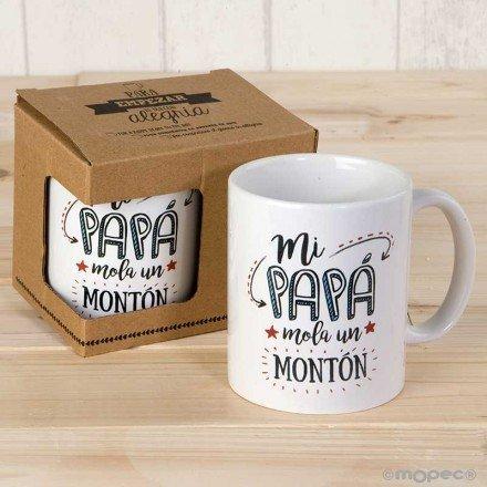 "Mug ""My Dad Springs A Lot"""